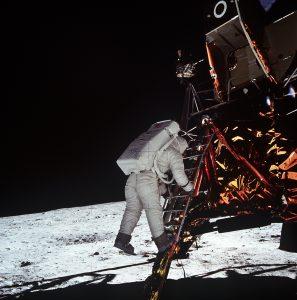 Das angeblich im Studio aufgenommene Bild (Quelle: NASA)